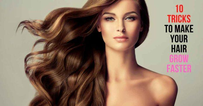10 tricks to make your hair grow faster