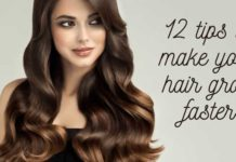 12 tips to make your hair grow faster