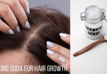 baking soda for hair growth