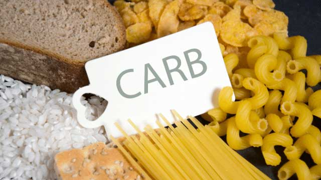 Reduce on carbs