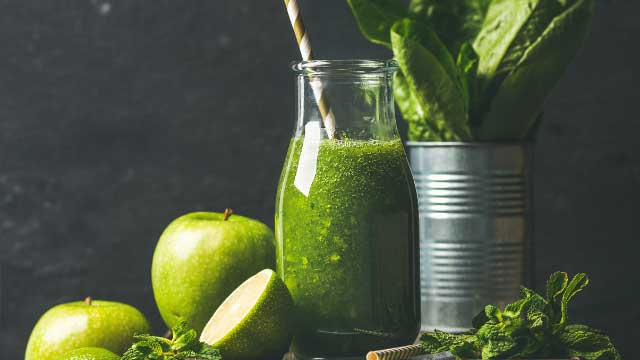 Romaine smoothie