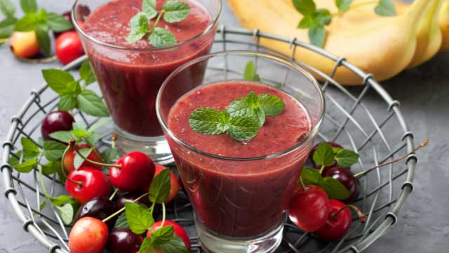 Tobasco cherry smoothie
