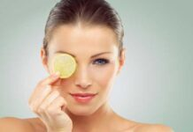 What are the properties of lemon for the skin